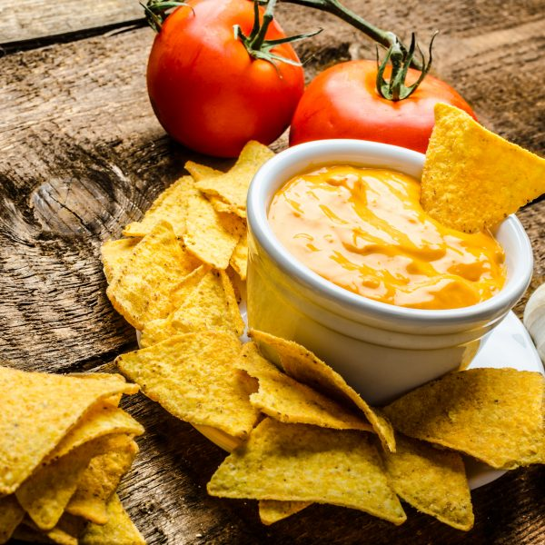 Warm Cheese and Tomato Dip